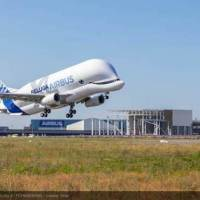 Video Of Airbus' Huge New Cargo Plane BelugaXL Take It's First Flight