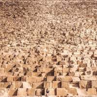 Close Up Photo Puts Immensity of Great Pyramid of Giza Into Perspective