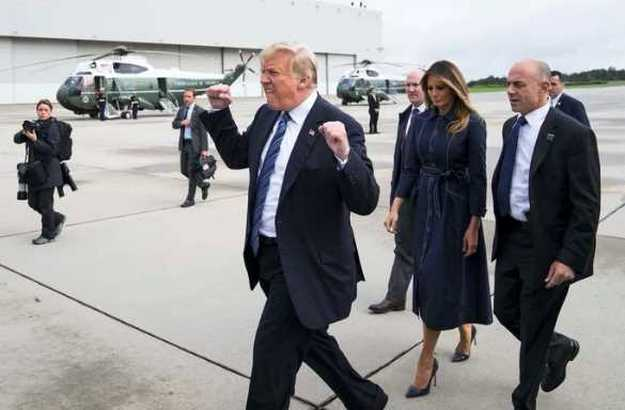 Trump's Fist Pump Has Become A Photoshopped Meme