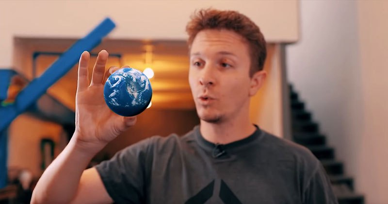 Tennis Ball-Sized Earth