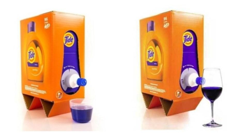 Tide Detergent box