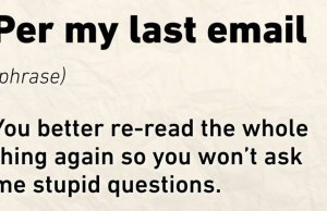 Most Used Email Phrases