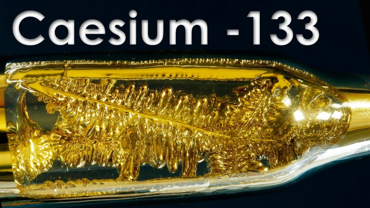 Cesium - The Most Active Metal on Earth!