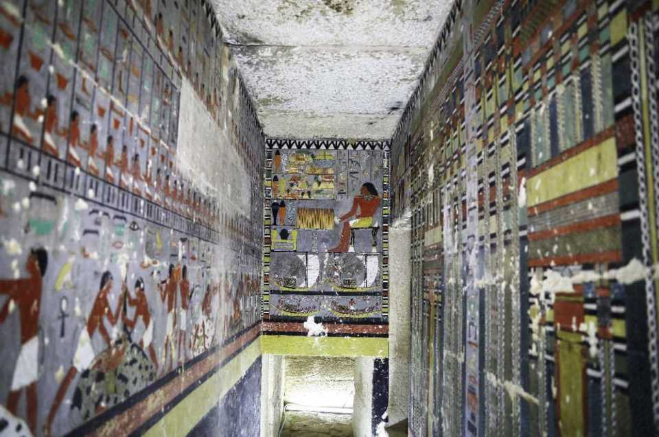 4,000-Year Old Egyptian Tomb