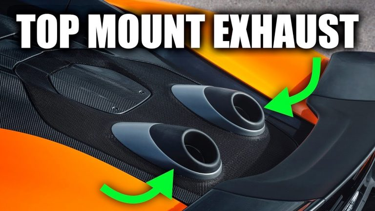 This Is The Genius Logic Behind Top Mount Exhausts In McLaren 600LT Spider