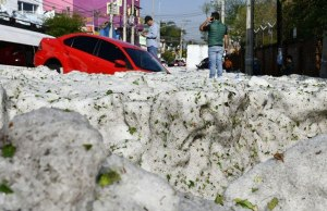Ice Storm In Mexico