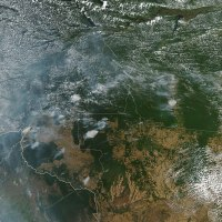 The Amazon is Burning And It Is Visible From Space As Well