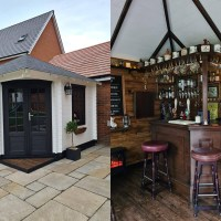 Couple Builds A Mini Pub In A Garden, People Stunned With Its Handmade Interior