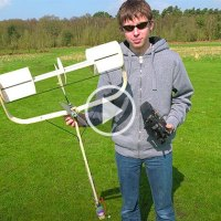 Amazing 'Magnus Effect' RC Plane