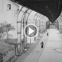 1902 Germany The High Quality Video of a Flying Train