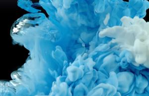 Underwater Plumes of Ink
