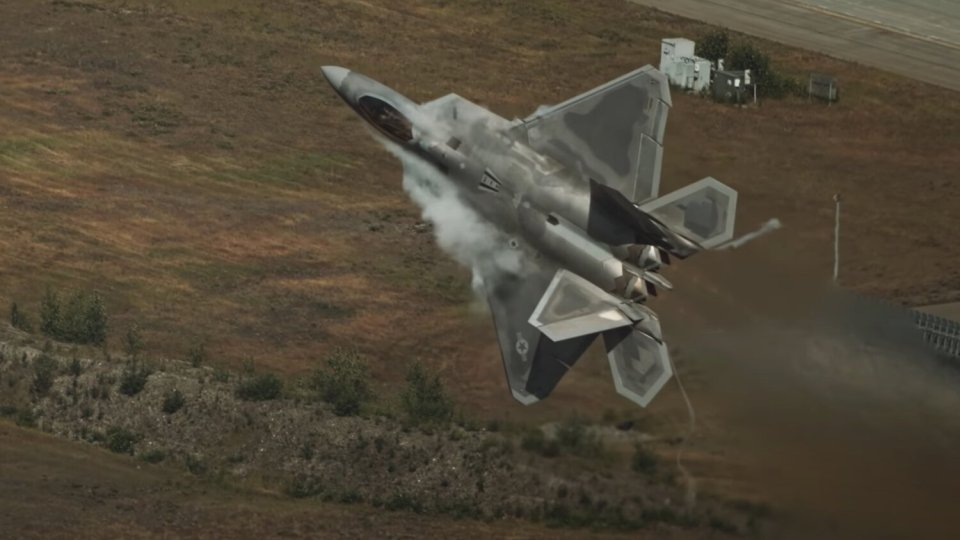 F-22 Raptor Fighter Jet