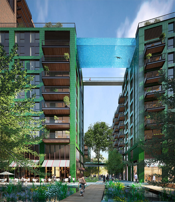 World's First Transparent 'Sky Pool'