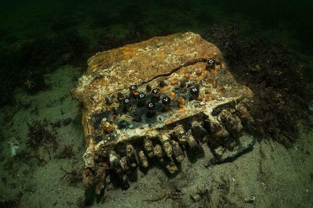 World War II Enigma Machine