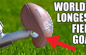 World's Longest Field Goal