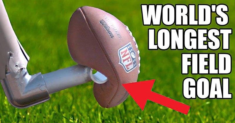 World's Longest Field Goal