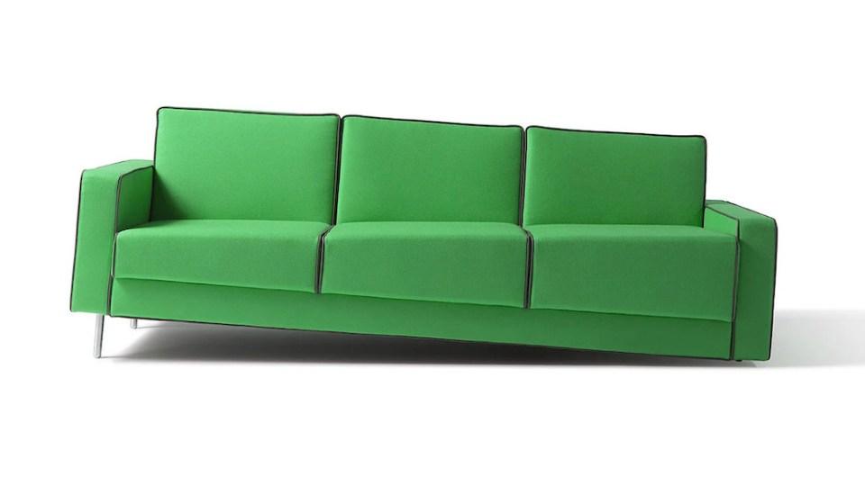 Optical Illusion Sofa