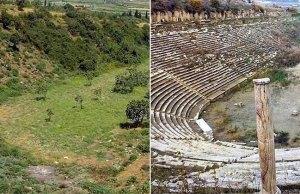 Ancient Greek Stadium Excavation