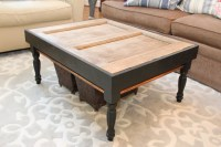 The old door coffee table - Unskinny Boppy