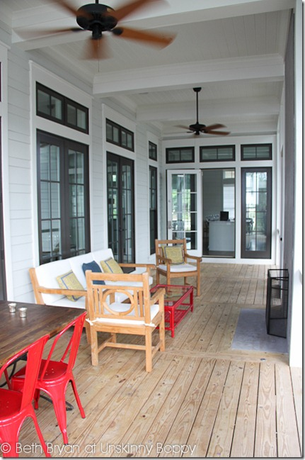 Dream Beach House Floor Plan From Watercolor Florida