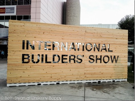 International Builders' Show Las Vegas 2013 Sign