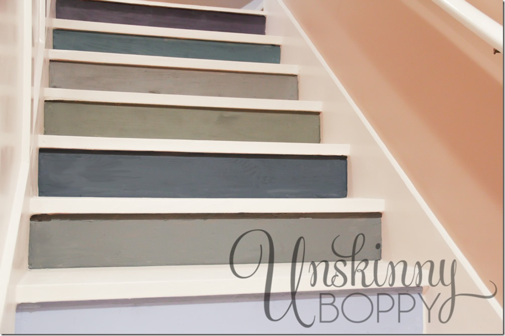 How To Paint Plywood Stairs