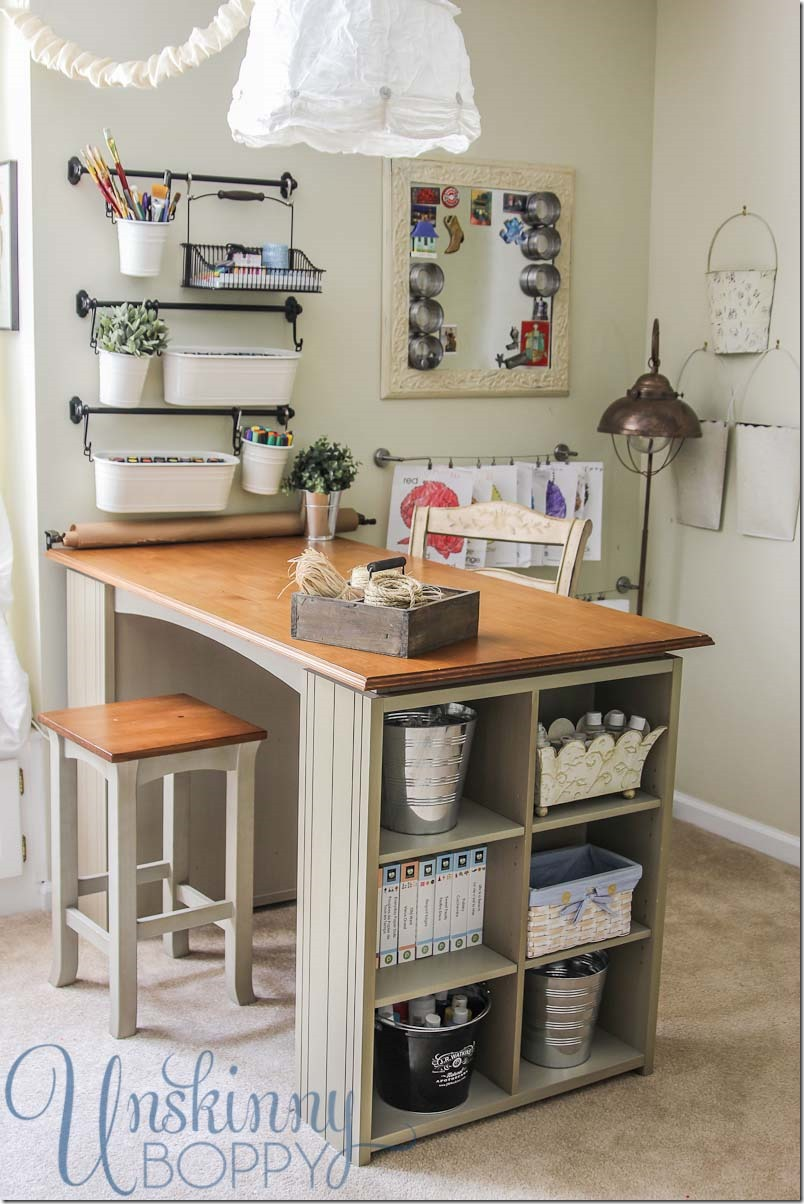 Updating And Organizing The Craft Room  Unskinny Boppy