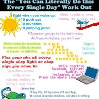 Workout for lazy people |Tips +Hacks
