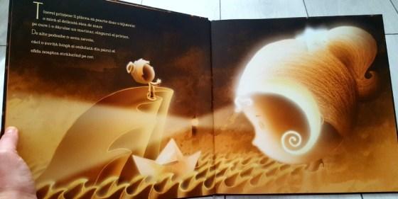 secventă carte Printesa cerului