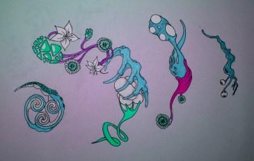 Victor Abad - unsoloboton - Boceto / Sketch