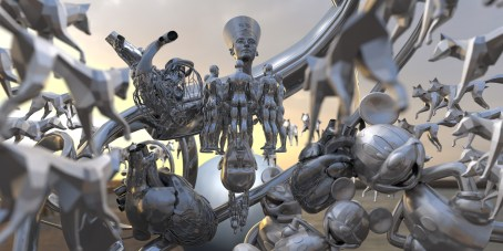 Victor Abad - renders con cinema 4d