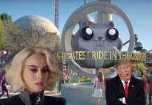 Katy Perry against Trump in Chained To The Rhythm