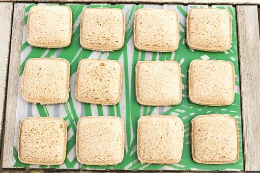 Homemade Uncrustables Sandwiches