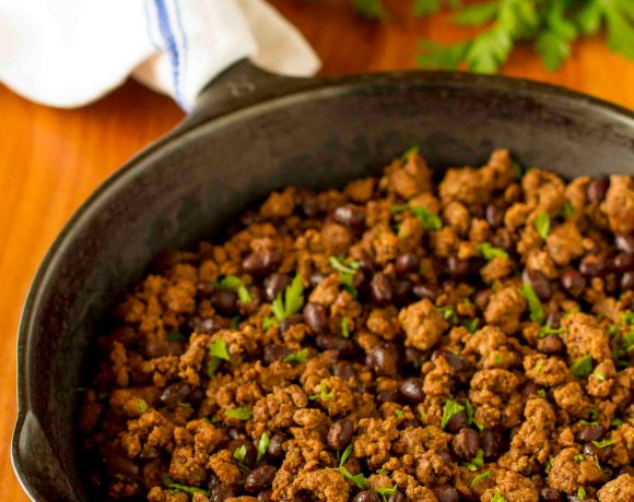 Simple Budget-Friendly Taco Meat Recipe | Seasoned Ground Beef With Black Beans