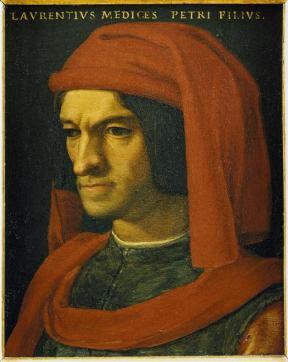 Bronzino (dit), Allori Agnolo di Cosimo, portrait de Laurent le Magnifique, Galerie des Offices, RMN-Grand Palais Raffaello Bencini