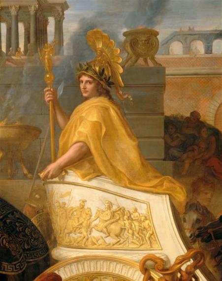 Charles le Brun, Entrée d'Alexandre le Grand à Babylone, Louvre, Paris, RMN.jpg
