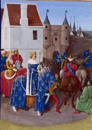Entrée de Jean II le Bon