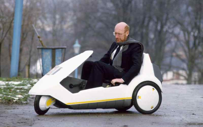 Sinclair C5 Hydro Electric vehicle