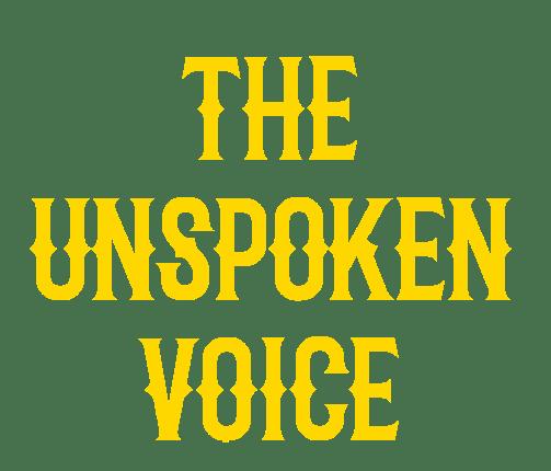 The unspoken voice
