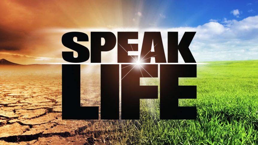 Image result for speak life