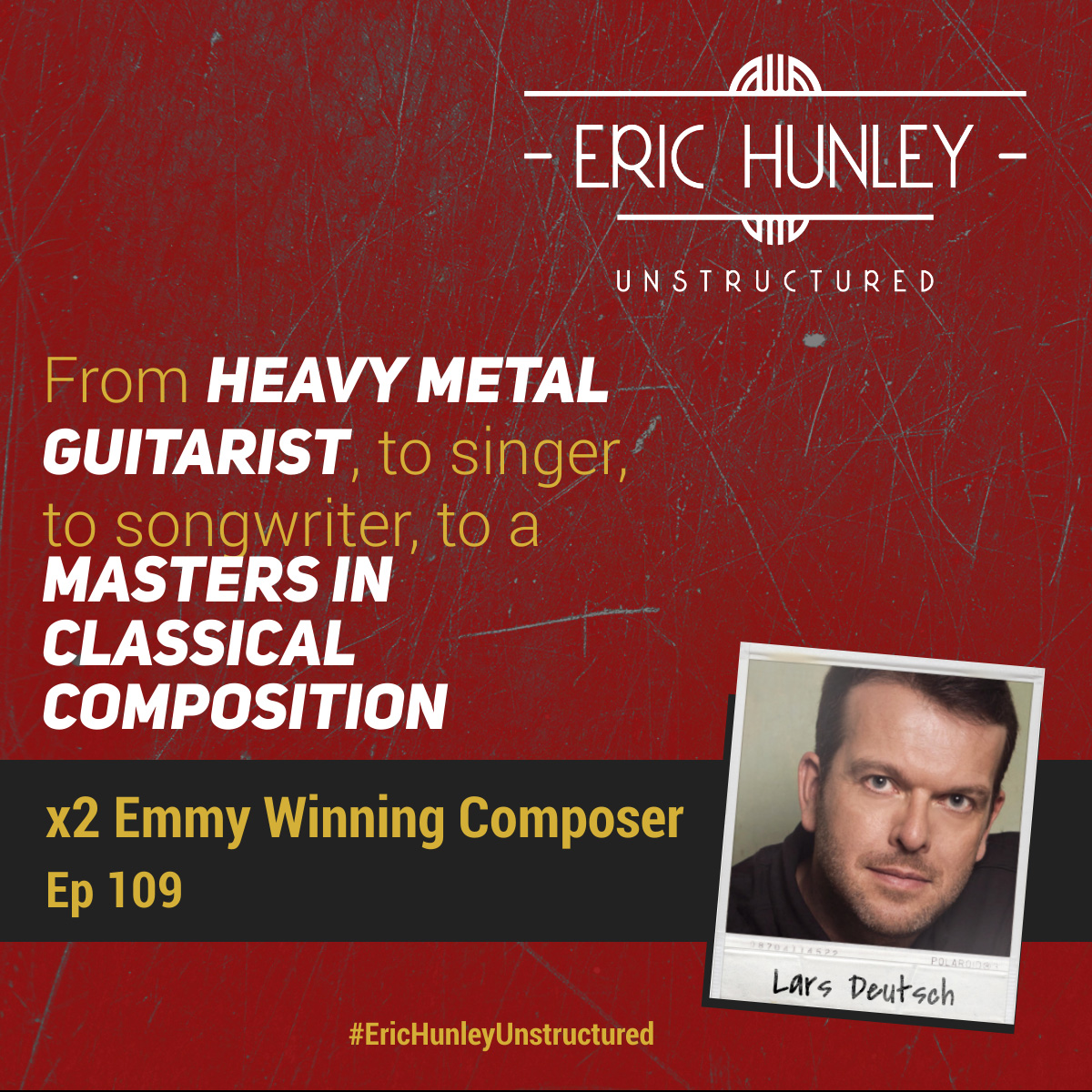 Eric Hunley Unstructured Podcast - 109 Lars Deutsch Square Post