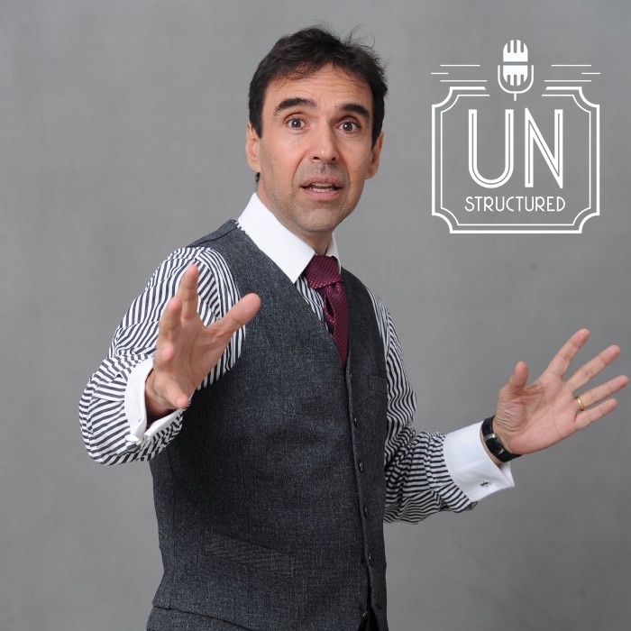 108 - Arthur Carmazzi - Unique wide-ranging and well-researched unstructured interviews hosted by Eric Hunley UnstructuredPod Dynamic Informal Conversations