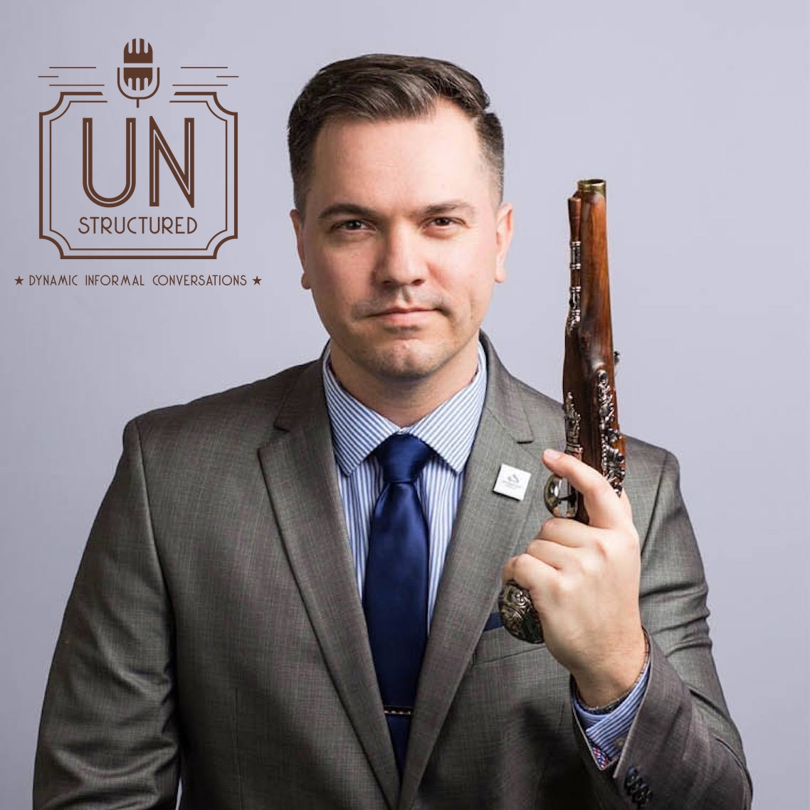 025 - Austin Petersen - Unique wide-ranging and well-researched unstructured interviews hosted by Eric Hunley UnstructuredPod Dynamic Informal Conversations