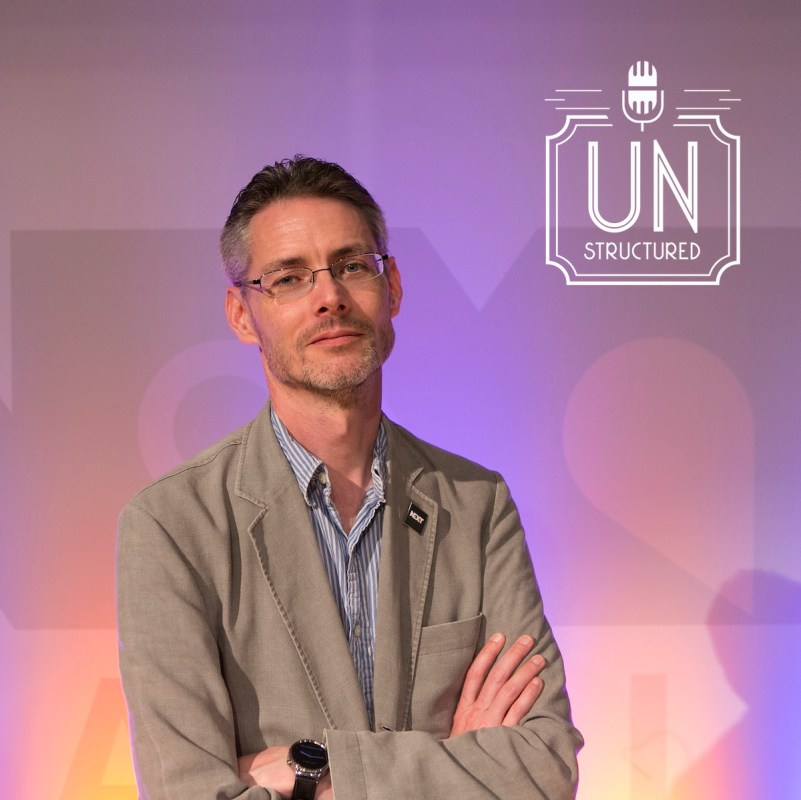 046 - James Cridland - Unique wide-ranging and well-researched unstructured interviews hosted by Eric Hunley UnstructuredPod Dynamic Informal Conversations