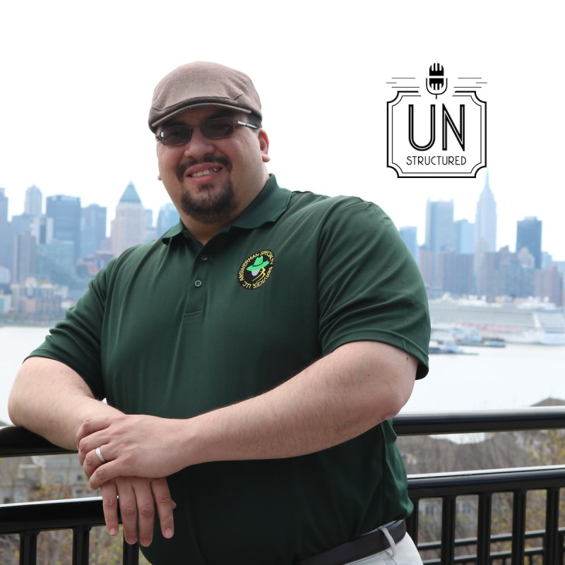 034 - Julio Briones - Unique wide-ranging and well-researched unstructured interviews hosted by Eric Hunley UnstructuredPod Dynamic Informal Conversations
