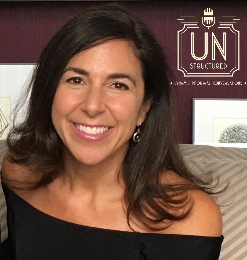 063 - Kara Mayer Robinson UnstructuredPod Unstructured interviews - Dynamic Informal Conversations with unique wide-ranging and well-researched interviews hosted by Eric Hunley
