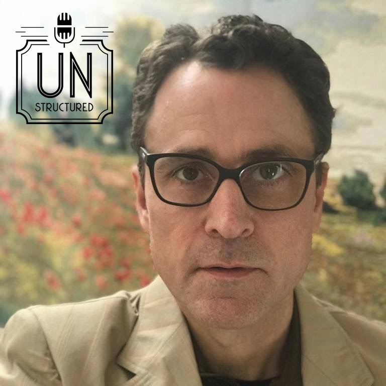 095 - Kevin Roberts UnstructuredPod Unstructured interviews - Dynamic Informal Conversations with unique wide-ranging and well-researched interviews hosted by Eric Hunley