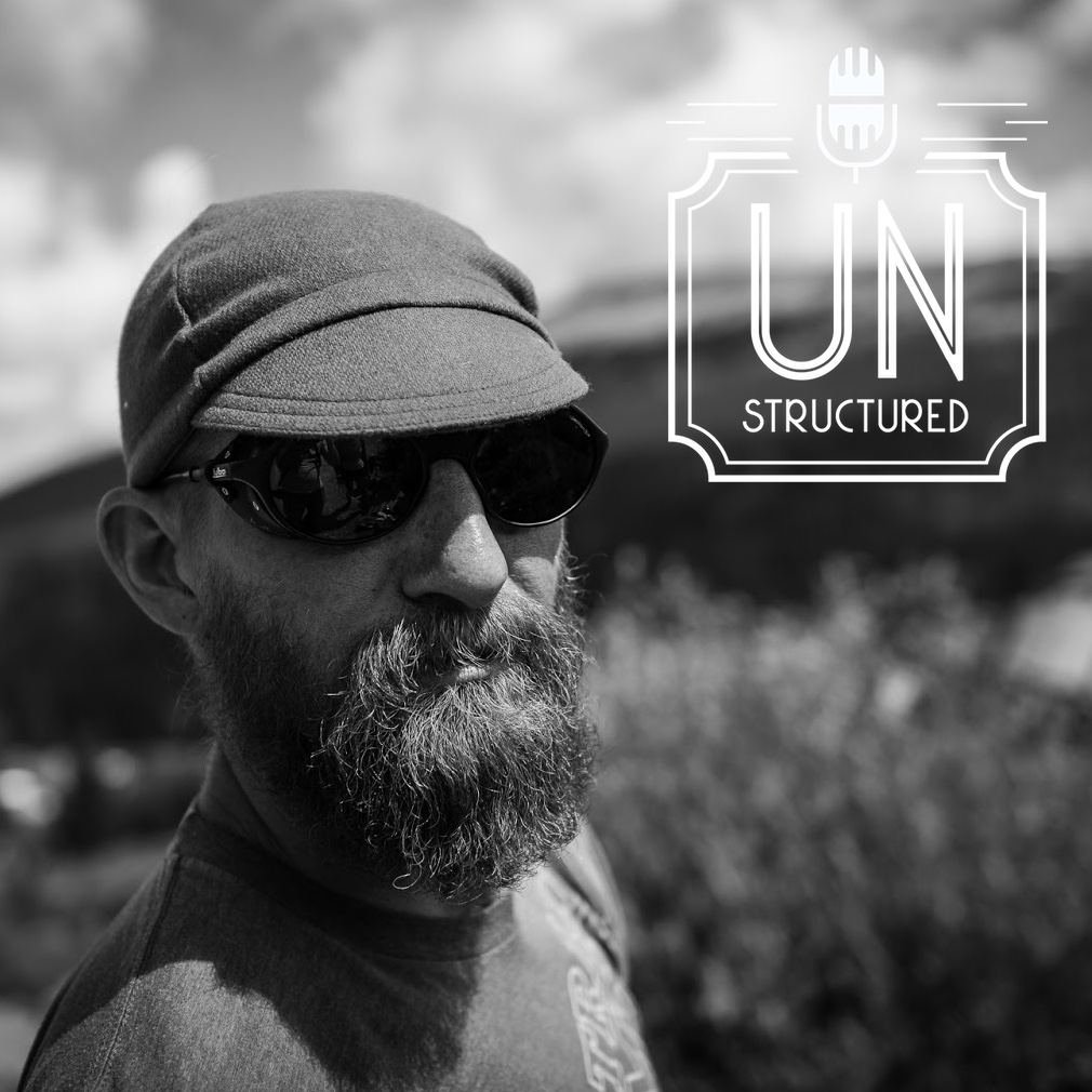 "002 - Tim ""Lucho"" Waggoner UnstructuredPod Unstructured interviews - Dynamic Informal Conversations with unique wide-ranging and well-researched interviews hosted by Eric Hunley"