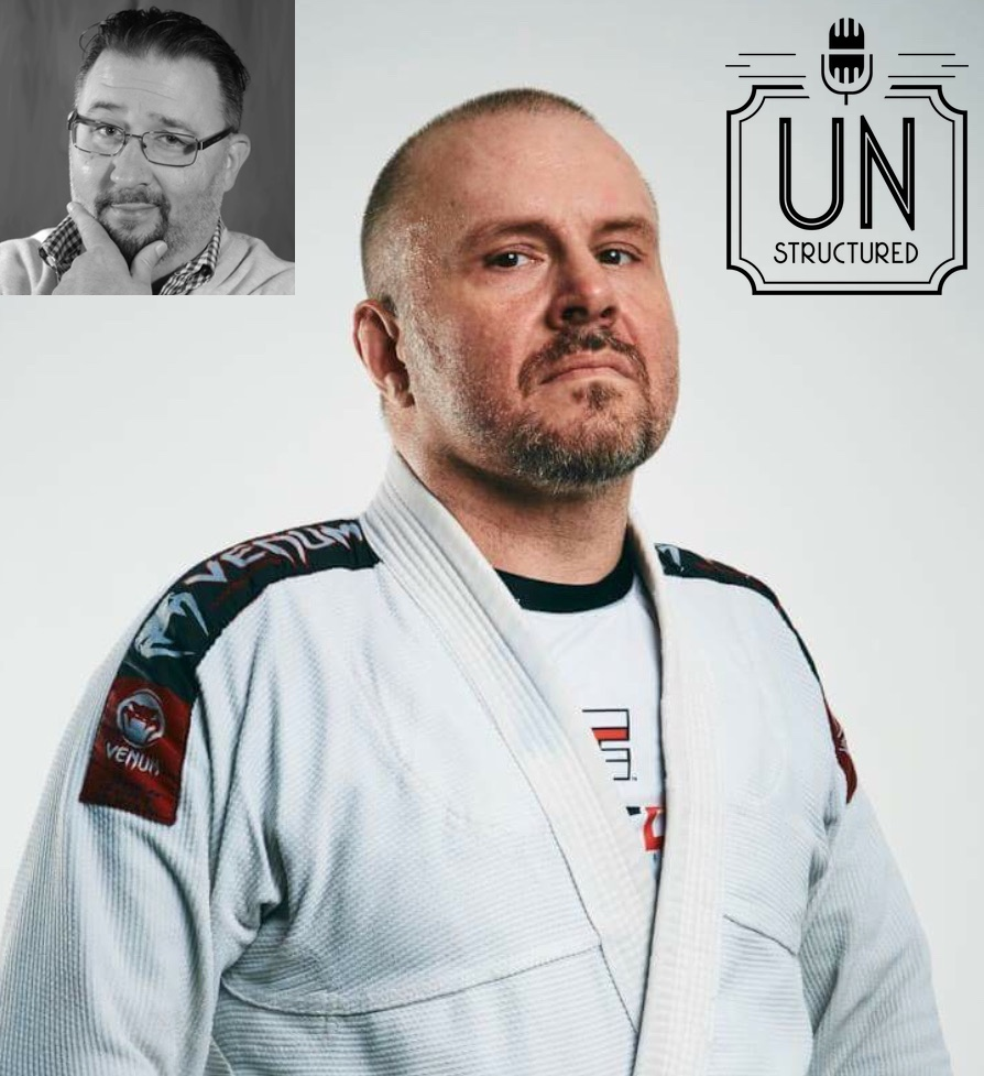 055 - Mixed Martial Arts Coach Marco Perazzo w/ Larry Roberts - Unique wide-ranging and well-researched unstructured interviews hosted by Eric Hunley UnstructuredPod Dynamic Informal Conversations