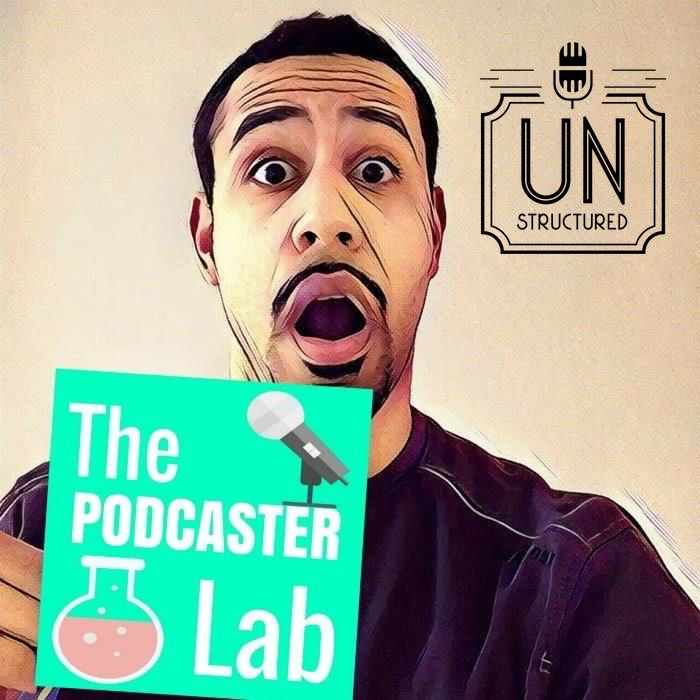 080 - Yann Ilunga UnstructuredPod Unstructured interviews - Dynamic Informal Conversations with unique wide-ranging and well-researched interviews hosted by Eric Hunley